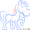 How to Draw Small Horse, Farm Animals