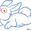 How to Draw Happy Rabbit, Farm Animals