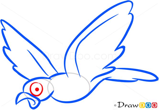 How to Draw Little Bird, Farm Animals