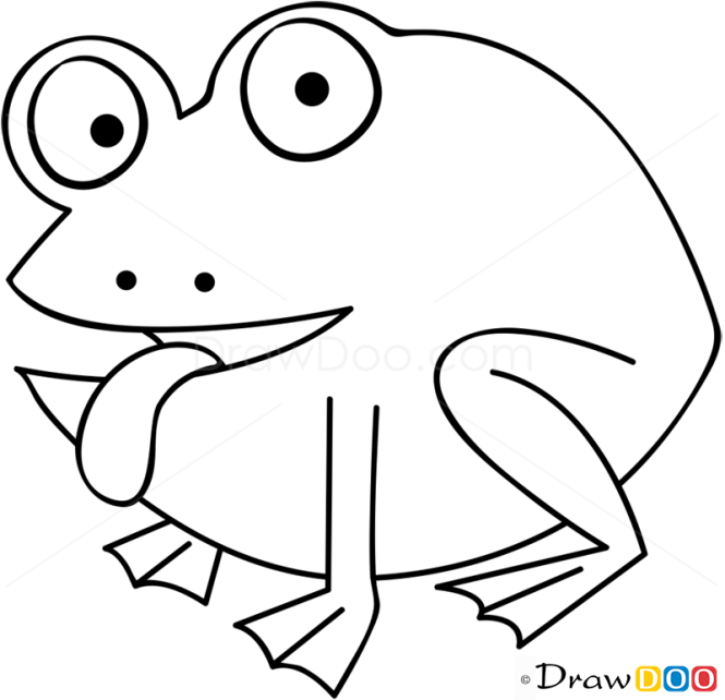 How to Draw Green Frog, Farm Animals