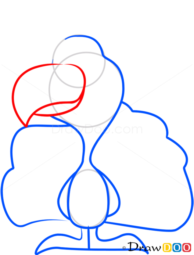 How to Draw Peafowl, Farm Animals