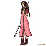 How to Draw Aerith, Final Fantasy