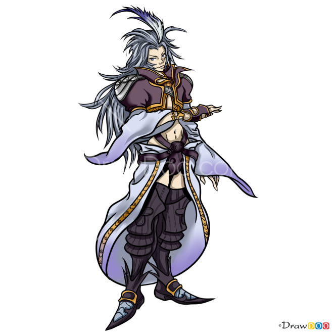 How to Draw Kuja, Final Fantasy