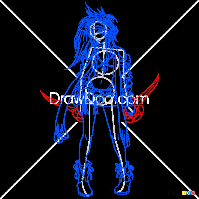 How to Draw Rikku, Final Fantasy