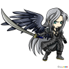 How to Draw Sephiroth Chibi, Final Fantasy