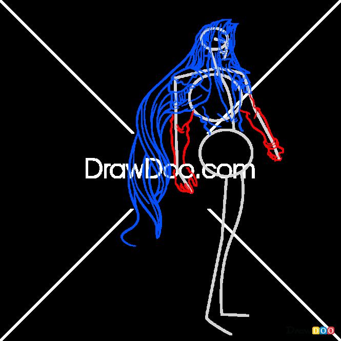 How to Draw Sephiroth, Final Fantasy