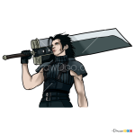 How to Draw Zack, Final Fantasy