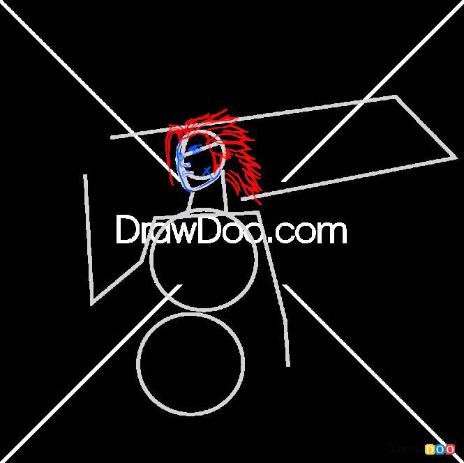 How to Draw Zack, Final Fantasy