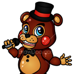 How to Draw Chibi Freddy, Five Nights at Freddy?s