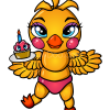 How to Draw Chibi Chica, Five Nights at Freddy?s