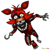 How to Draw Foxy the Pirate, Five Nights at Freddy?s