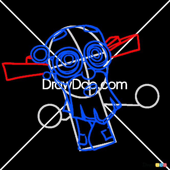 How to Draw Dedus, Fixiki