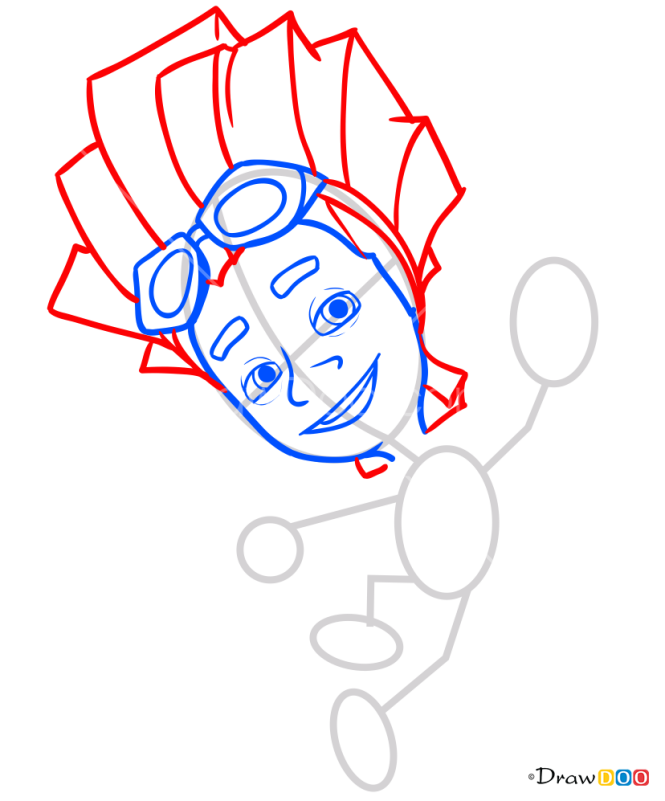 How to Draw Fayer, Fixiki