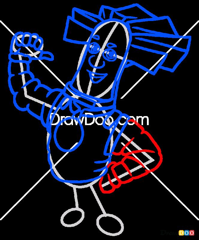 How to Draw Papus, Fixiki