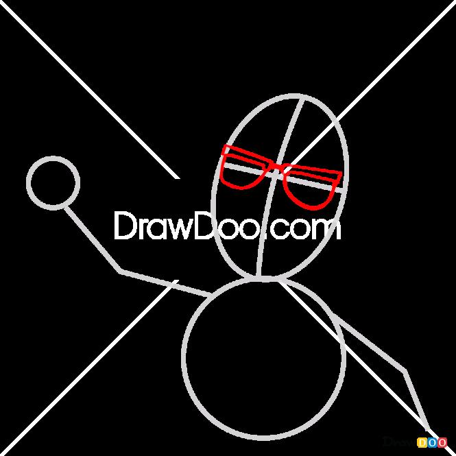 How to Draw Professor Chydakov, Fixiki