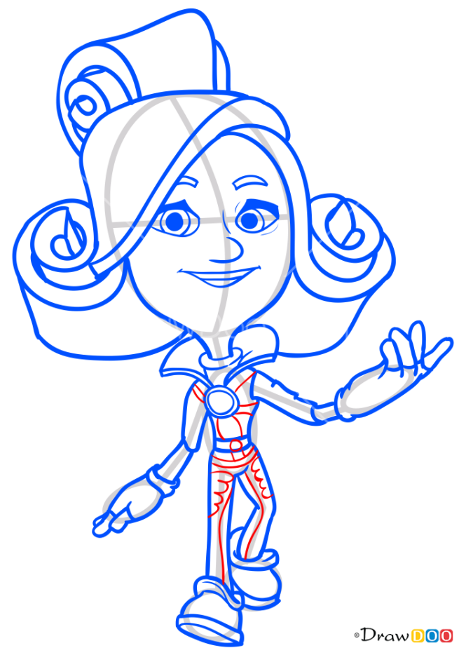 How to Draw Verta, Fixiki