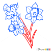 How to Draw Daffodils, Flowers