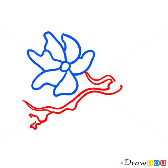 How to Draw Sakura, Flowers