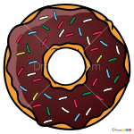 How to Draw Donut, Food