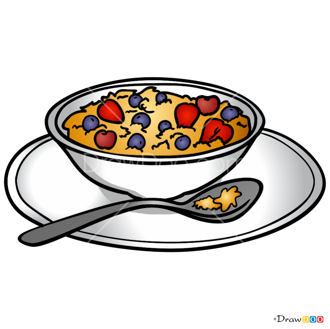 How to Draw Muesli, Food