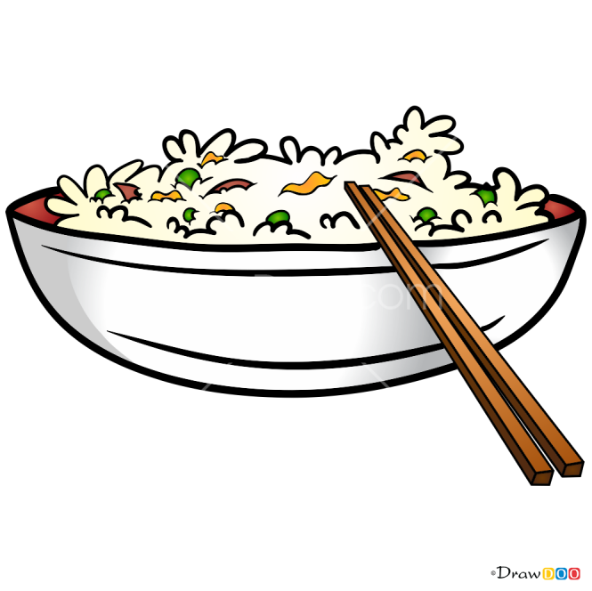 How to Draw Rise, Food