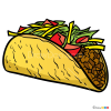 How to Draw Taco, Food