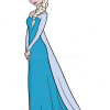 How To Draw Elsa Frozen