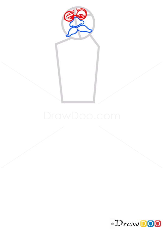 How to Draw Ducke of Weselton, Frozen