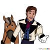 How to Draw Prince Hans, Frozen