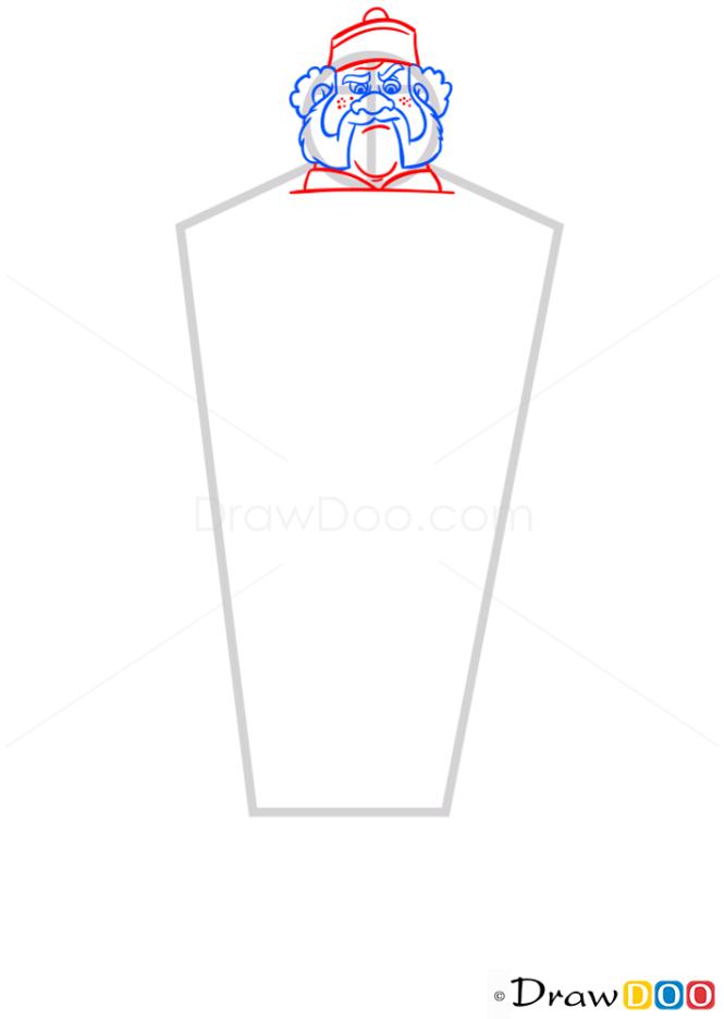 How to Draw Oaken, Frozen
