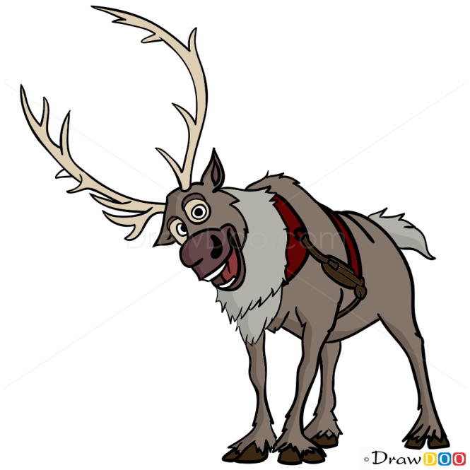 disney frozen sven drawing - photo #24
