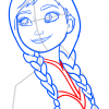 How to Draw Beautiful Anna, Frozen