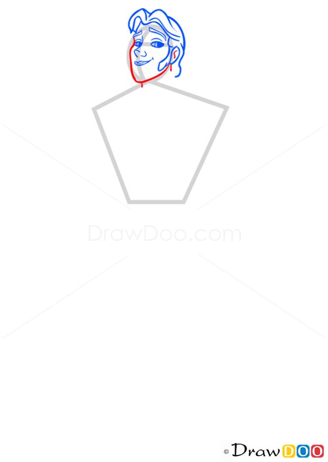 How to Draw Hans, Frozen
