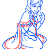 How to Draw Cute Anna, Frozen