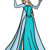 How to Draw Beautiful Elsa, Frozen