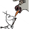 How to Draw Sven and Olaf, Frozen