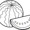 How to Draw Watermelon, Fruits