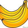 How to Draw Banana, Fruits