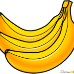 How to Draw Banana, Fruits