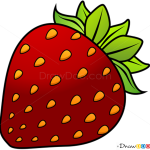 How to Draw Strawberry, Fruits