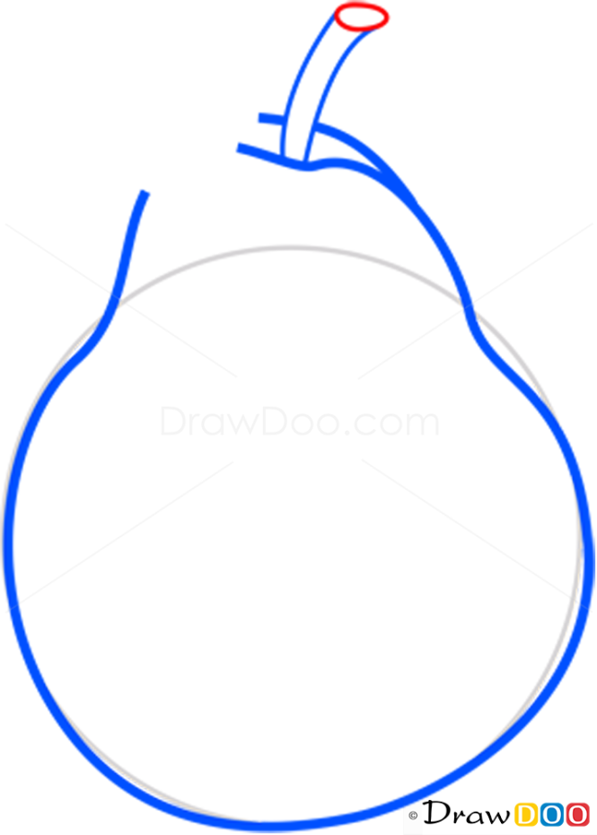 How to Draw Pear, Fruits