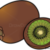 How to Draw Kiwi, Fruits