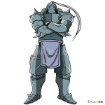 How to Draw Alphonse, Fullmetal Alchemist