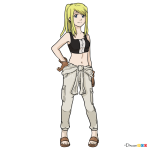 How to Draw Winry, Fullmetal Alchemist