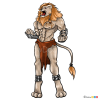 How to Draw Mr. Lion, Furry