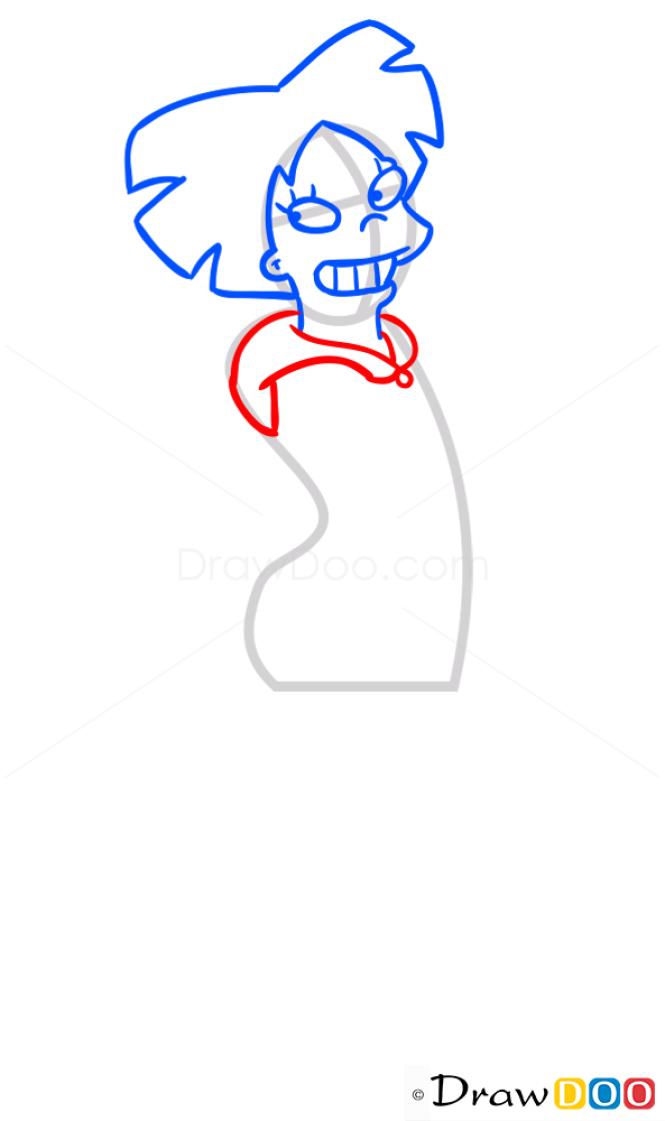 How to Draw Amy Wong, Futurama