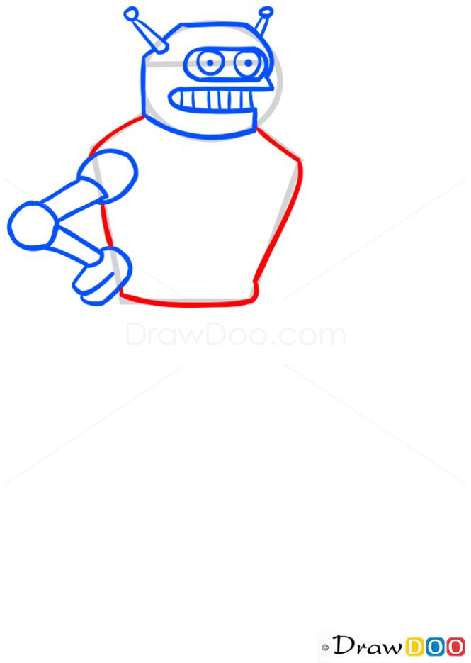 How to Draw Calculon, Futurama
