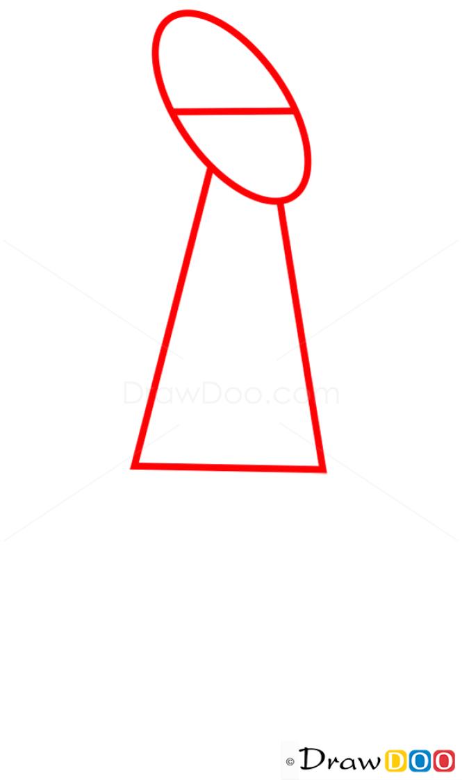 How to Draw Kit Kroker, Futurama