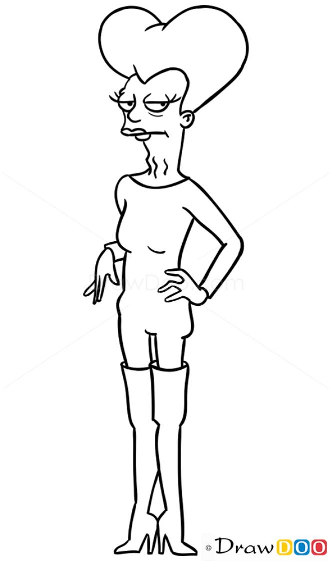 How to Draw Mom, Futurama