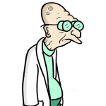 How to Draw Professor Hubert, Futurama